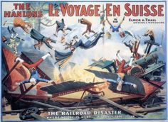 The Impossible Voyage is a 1904 silent film by pioneer filmmaker Georges Méliès. A geographic society proposes to travel around the world. Many vehicles are made for this voyage, including a submarine, an automobile, and a large railway box car filled with ice.