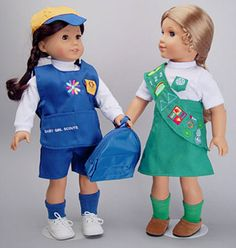 Cute Scout Outfits for American Girl Dolls