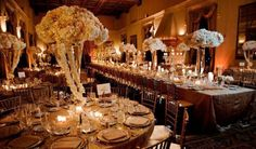 Great Gatsby wedding decor. maloman.com