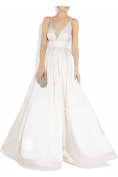 KAUFMANFRANCO  Silk-satin gown  $9995