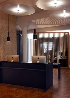 Cool front desk -- Office Design Gallery - The best offices on the planet