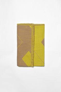 geometric scarf