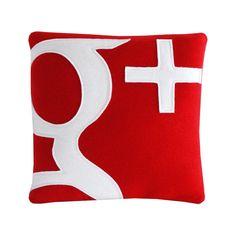 Google Plus Pillow. $28.00.