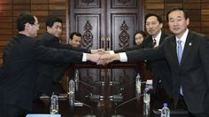 North and South Korea to hold family reunions in shadow of war drills