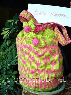 "Jacquard Bag ""Tulip"""