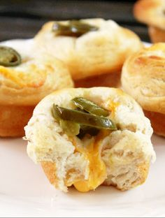 Jalapeno and Cheese Biscuit Popovers