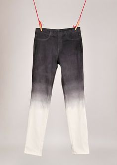 The Work is Getting to Me: DIY ombre jeans (or jeggings)