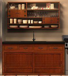 Greentea design - custom kitchens, tansu style