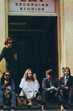 Abbey Road in preparation.