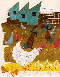 mary blair, blair illustr, vintage books, mari blair, art, hous, book collection, blog, birds
