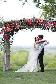 wedding ceremonies, idea, colors, arbor, wedding flowers, wedding arches, pergola, summer weddings, tent decorations