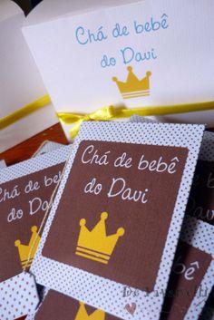 Chá de Bebê coroa