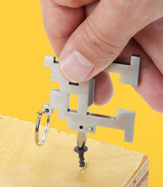 Space Intruder Multi-tool by fredflare #Tools #fredflare #Keychain