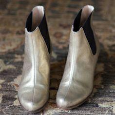 Gold Lennon Boots