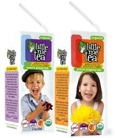 Little Me Tea drink boxes for kids: no added sugar, and a good alternative to juice boxes.