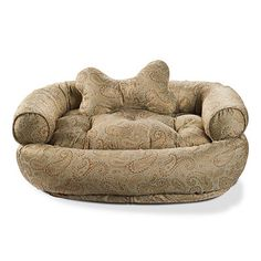 Designer Comfy Couch Pet Bed, add some paisleys into your home decor with this deisgner patter comfy couch