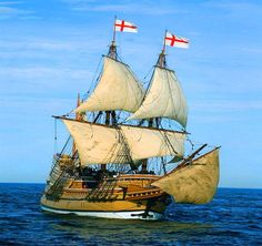 Replica of the Mayflower