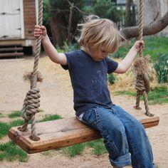 Soar into summer on a handmade swing.