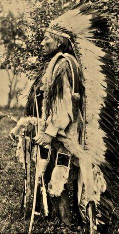 Esa-Thosa-Vit (aka White Wolf) - Comanche - circa 1890
