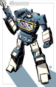 Soundwave - Transformers - Eryck Webb