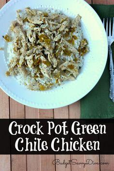 Crock Pot Green Chile Chicken Recipe