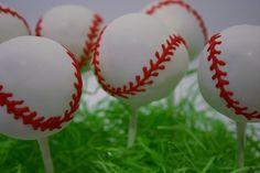 Baseball Cakepops!