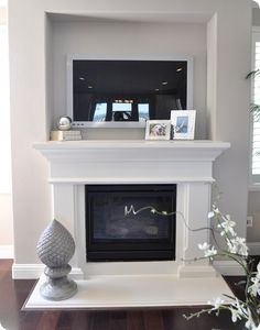 Simple Fireplace surround