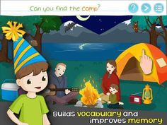 Bud's First English Words - Vocabulary Builder, Reading Game, Picture Dictionary & Learning activities for Preschool Toddlers - a vocabulary building app (about 350 everyday words). Appysmarts score: 90/100