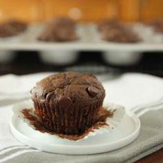 Triple-Chocolate Zucchini Muffins Recipe