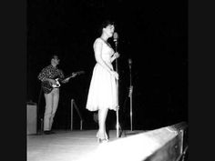 "There's nobody like Patsy!!!! LOVE her! Patsy Cline Singing Crazy ""Live"" on the Grand Ole Opry."