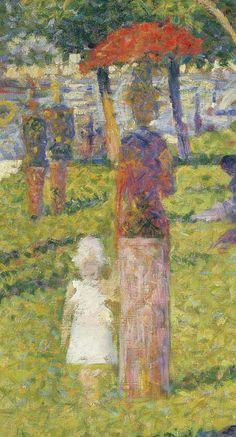 Georges Seurat, Study for A Sunday on La Grande Jatte, 1884