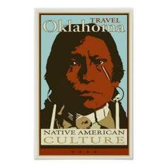 Travel Oklahoma Posters