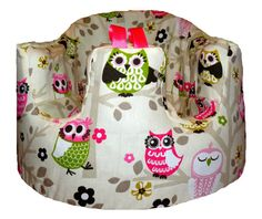 Home of the Original Baby Seat COVER in by BoutiqueSweetCheeks, $26.99    I need this for my Bumbo!!!