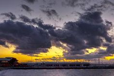 Who knew clouds could be so picturesque! Sunset over the Edmonds marina captured by Jim Stiles.