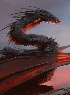 Concept Art World » 44 Enthralling Examples of Dragon Concept Art and Illustrations