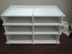 mini 6 drawer foam board foam core foamboard drawer unit cabinet