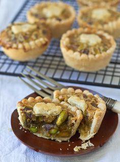 Mini Honey Pistachio Pies | 53 Amazing Pistachio Desserts