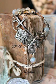 Beautiful work of Terri Brush. She offers an Online Ecourse Soldering Molten lava Jewelry :: Terri Brush Designs,