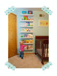 ideas para hacer librerias para las habitaciones de los niños