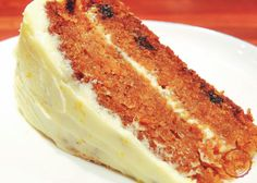 comfortable food - the best carrot cake recipe