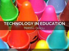 Technology in Education. A Flipbook by Natalie B. #film260 #queensu #queenscds