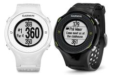 Garmin Approach S4 GPS Golf Watch  The Garmin Approach S4 hi-res touchscreen GPS golf watch with over 30,000 preloaded courses around the world, free lifetime course updates and up to 10 hours of GPS. The stylish S4 is lightweight and comfortable, with a high-sensitivity GPS receiver for precise distance to the front, back and middle of greens, plus layup and dogleg distances. Smart Notification feature informs you discreetly about incoming emails, texts and alerts from your smartphone.