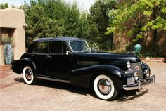 1939 Cadillac Fleetwood 60 Special Town Car by Derham