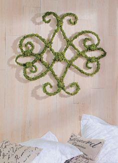 decor, art outdoor, wall hangings, craft, outdoor wall art wire, idea, garden, diy, moss vine