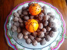 Ambientador natural de naranja y clavo