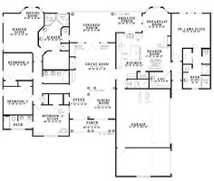 Home Plans HOMEPW18923 - 2,875 Square Feet, 5 Bedroom 4 Bathroom Colonial Home with 3 Garage Bays