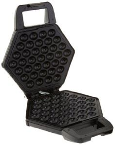 You can use the CucinaPro Bubble Waffler to make delicious Hong Kong style thin and bubbly waffles at home