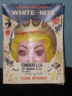 Vintage Collegeville Cinderells Halloween Costum Sixties Child. $45.00, via Etsy.