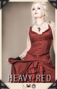 Bridesmaid dress possibly. I really want to use HeavyRed for the dresses because I know how amazing their clothing is!