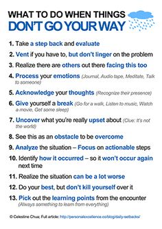 ...when things don't go your way    Personal Excellence Manifesto by Celes